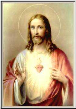 Sagrado Corazón de Jesús, en Vos confío!!