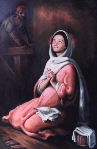 María y José esperan el Nacimiento de Jesús